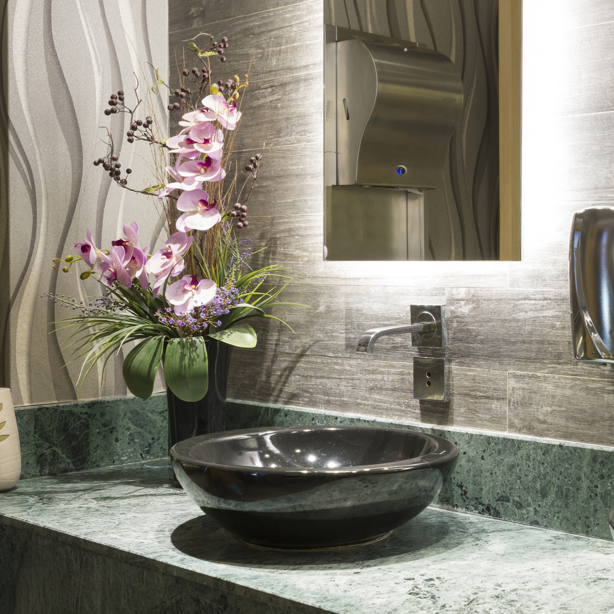 Your Guide to Commercial Bathroom Design - Garden State ...